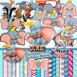 Super Kit Digital Dumbo png imágenes y documentos digitales