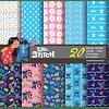 Kit Digital Lilo e Stitch