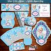 Kit Digital Moldes png Frozen - DY Faça Você mesmo