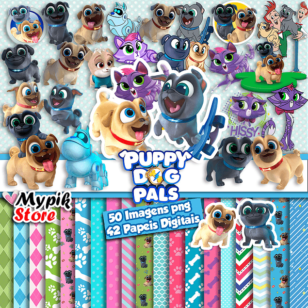 Super Digital Kit Puppy Dog Pals