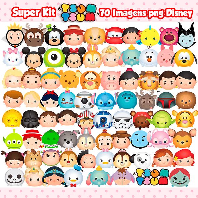 Super Kit Digital Disney Tsum Tsum
