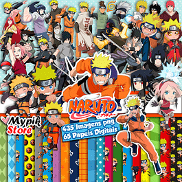 Super Kit Digital Naruto y Naruto Baby