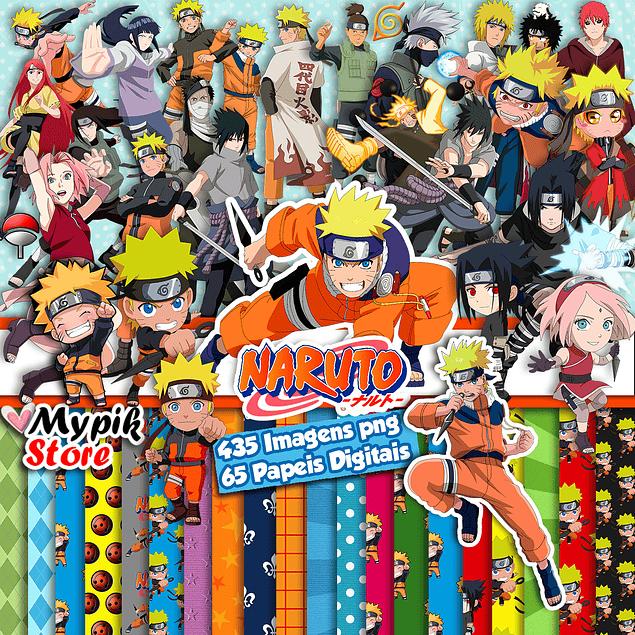 Super Kit Digital Naruto e Naruto Baby