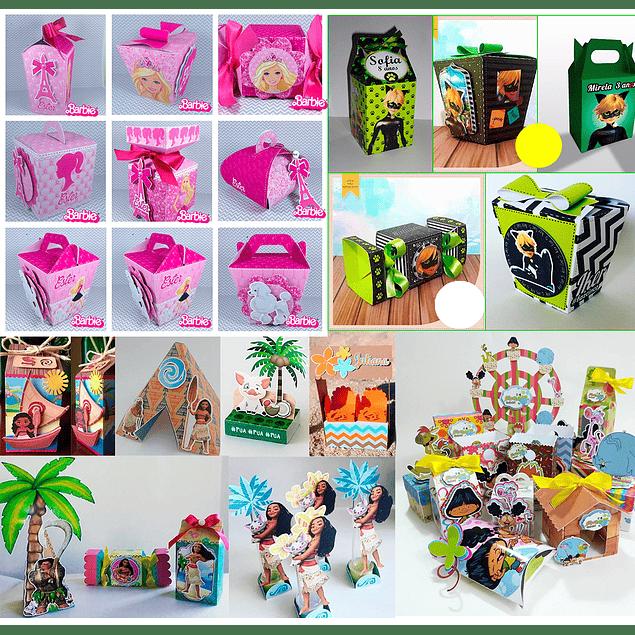 Kits de fiesta Mega Pack Digital Ready - Archivos de corte de silueta