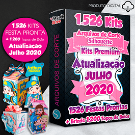 Kits de fiesta Mega Pack Digital Ready - Archivos de corte de silueta