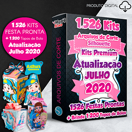 Mega Pack Digital Party Ready Kits - Archivos de corte de silueta