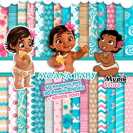 Kit Digital Moana Baby