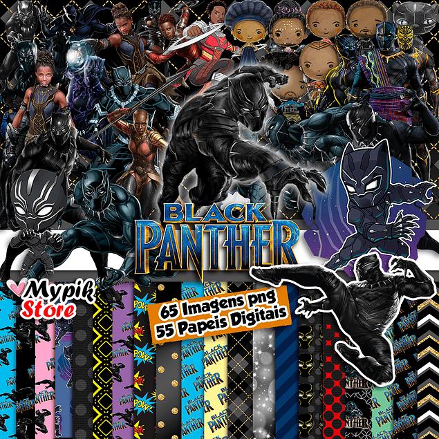 Super Kit Digital Pantera Negra