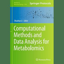 Computational Methods and Data Analysis for Metabolomics