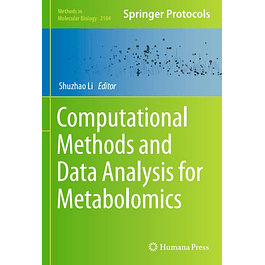 Computational Methods and Data Analysis for Metabolomics