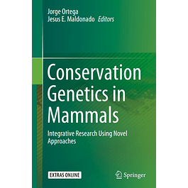 Conservation Genetics in Mammals: Integrative Research Using Novel Approaches