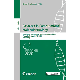 Research in Computational Molecular Biology: 24th Annual International Conference, RECOMB 2020, Padua, Italy, May 10–13, 2020, Proceedings