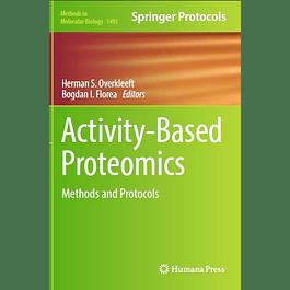 Activity-Based Proteomics: Methods and Protocols