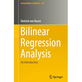 Bilinear Regression Analysis: An Introduction