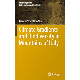 Climate Gradients and Biodiversity in Mountains of Italy