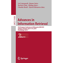 Advances in Information Retrieval: 41st European Conference on IR Research, ECIR 2019, Cologne, Germany, April 14–18, 2019, Proceedings, Part II