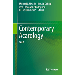 Contemporary Acarology: 2017