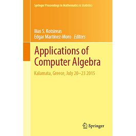 Applications of Computer Algebra: Kalamata, Greece, July 20–23 2015