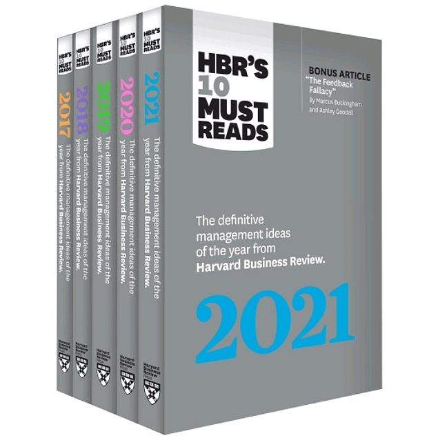 5 Years of Must Reads from HBR: 2021 Edition (5 Books) (HBR's 10 Must Reads)