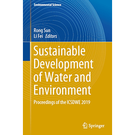 Sustainable Development of Water and Environment: Proceedings of the ICSDWE 2019