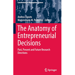 The Anatomy of Entrepreneurial Decisions: Past, Present and Future Research Directions
