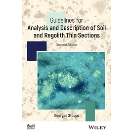 Guidelines for Analysis and Description of Regolith