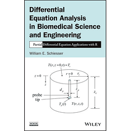 Differential Equation Analysis in Biomedical Science and Engineering: Partial Differential Equation Applications with R