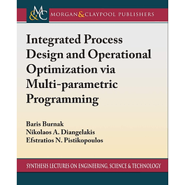 Integrated Process Design and Operational Optimization via Multiparametric Programming