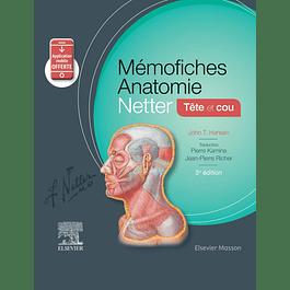 Mémofiches Anatomie Netter - Tête et cou: Tete Et Cou