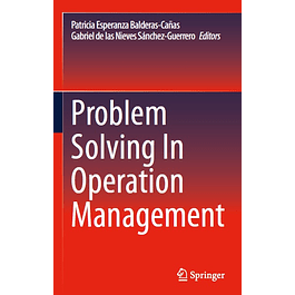 Problem Solving In Operation Management