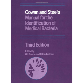Cowan and Steel's Manual for the Identification of Medical Bacteria