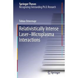 Relativistically Intense Laser–Microplasma Interactions