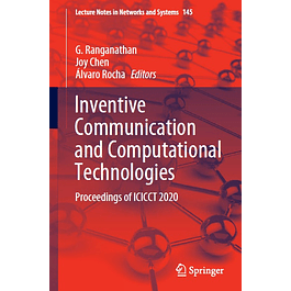 Inventive Communication and Computational Technologies: Proceedings of ICICCT 2020