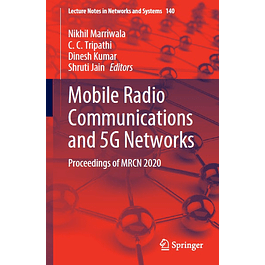 Mobile Radio Communications and 5G Networks: Proceedings of MRCN 2020