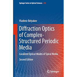 Diffraction Optics of Complex-Structured Periodic Media: Localized Optical Modes of Spiral Media