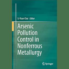 Arsenic Pollution Control in Nonferrous Metallurgy