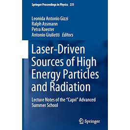 """Laser-Driven Sources of High Energy Particles and Radiation: Lecture Notes of the """"Capri"""" Advanced Summer School"""