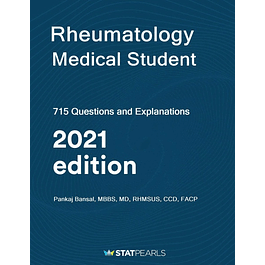 Rheumatology Medical Student: 750 Questions and Explanations