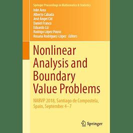 Nonlinear Analysis and Boundary Value Problems: NABVP 2018, Santiago de Compostela, Spain, September 4-7
