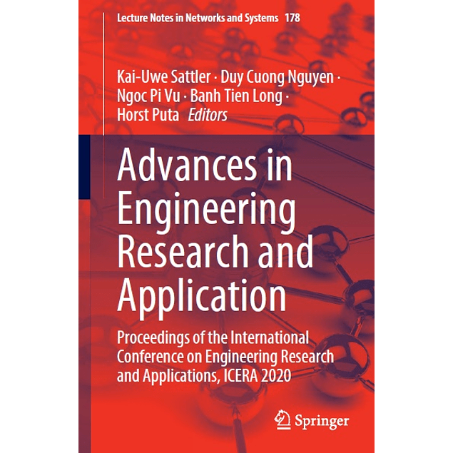 Advances in Engineering Research and Application: Proceedings of the International Conference on Engineering Research and Applications, ICERA 2020