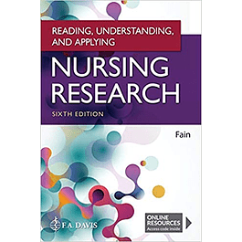 Reading, Understanding, and Applying Nursing Research