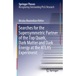 Searches for the Supersymmetric Partner of the Top Quark, Dark Matter and Dark Energy at the ATLAS Experiment