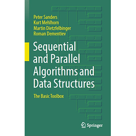 Sequential and Parallel Algorithms and Data Structures: The Basic Toolbox