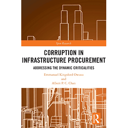 Corruption in Infrastructure Procurement: Addressing the Dynamic Criticalities
