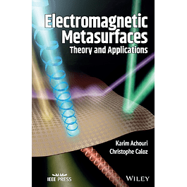 Electromagnetic Metasurfaces: Theory and Applications