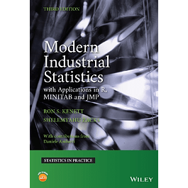 Modern Industrial Statistics: With Applications in R, MINITAB, and JMP