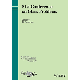 81st Conference on Glass Problems