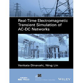 Real-Time Electromagnetic Transient Simulation of AC-DC Networks