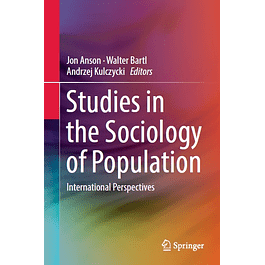 Studies in the Sociology of Population: International Perspectives