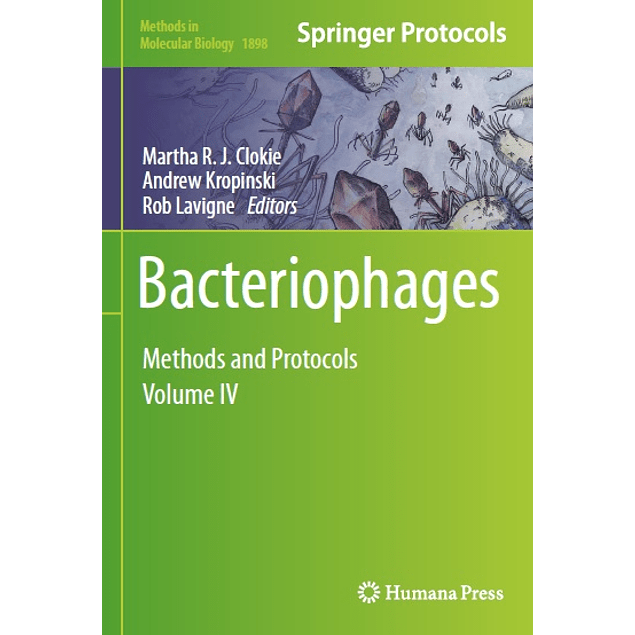 Bacteriophages: Methods and Protocols, Volume IV
